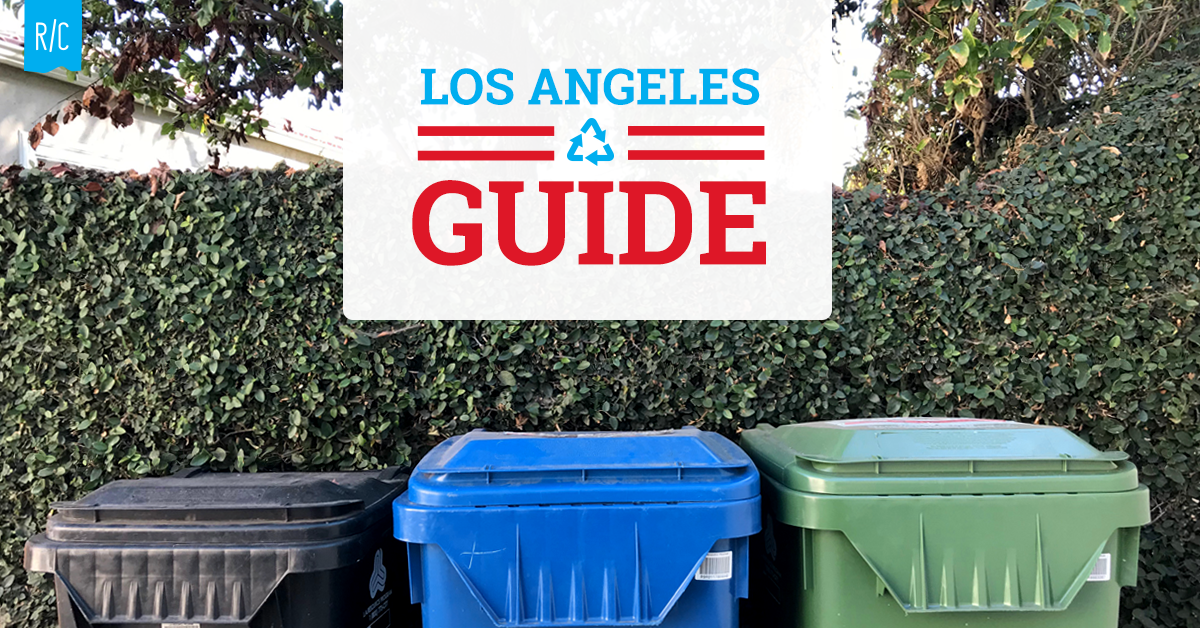 Simple recycling guide for Los Angeles