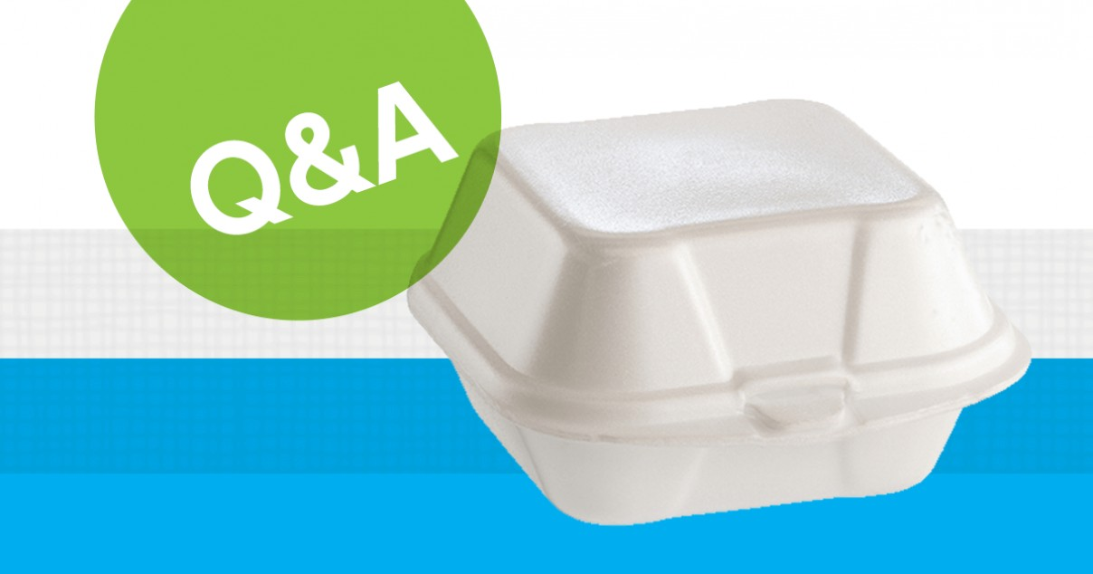 Where can I recycle styrofoam in Chicago?