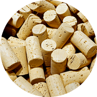 corks (with drop-off)