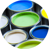 Household paints & stains