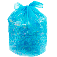 Shredded Paper Bagged